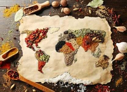 World of Food Jigsaw Puzzle