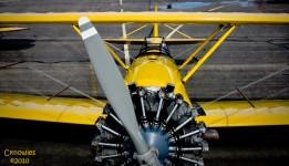 World War II Biplane
