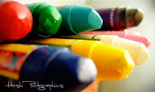 Worn Crayons Jigsaw Puzzle