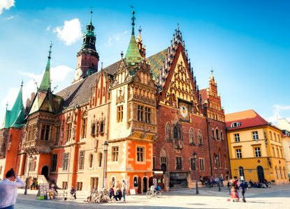 Wroclaw Town Hall Jigsaw Puzzle