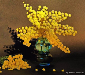 Yellow Blossoms Jigsaw Puzzle