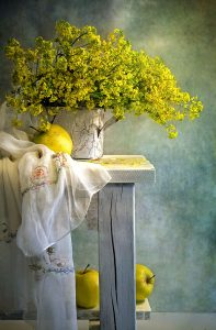 Yellow Bouquet Jigsaw Puzzle