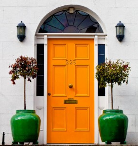 Yellow Door Jigsaw Puzzle