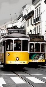 Yellow Tram Jigsaw Puzzle