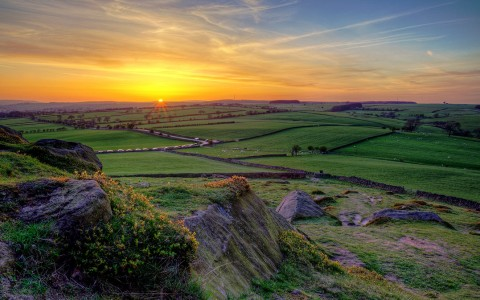 Yorkshire Sunset Jigsaw Puzzle