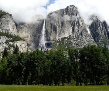 Yosemite Clouds Jigsaw Puzzle