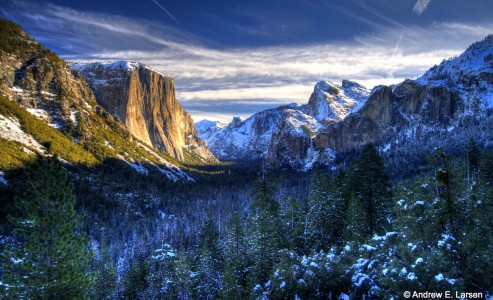 Yosemite Valley Snow Jigsaw Puzzle