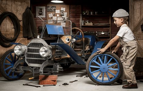 Young Mechanic Jigsaw Puzzle