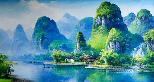 Yulong River Jigsaw Puzzle