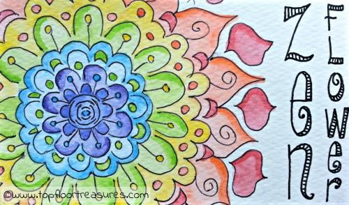 Zen Flower Jigsaw Puzzle
