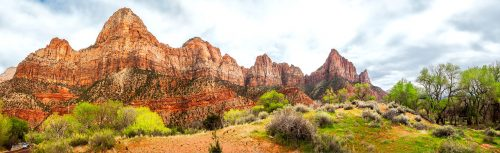 Zion Mountains Jigsaw Puzzle