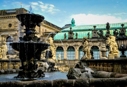Zwinger Fountain Jigsaw Puzzle