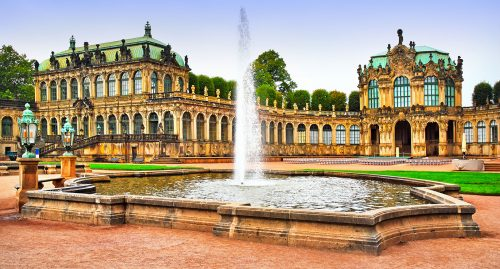 Zwinger Palace Jigsaw Puzzle